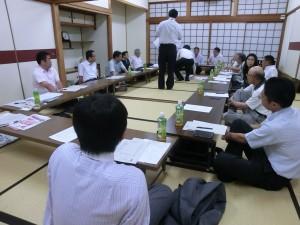 理事会の写真