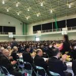 中央高校同窓会50周年記念:記念講演の様子